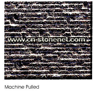 Machine Pulled landscaping stone picture